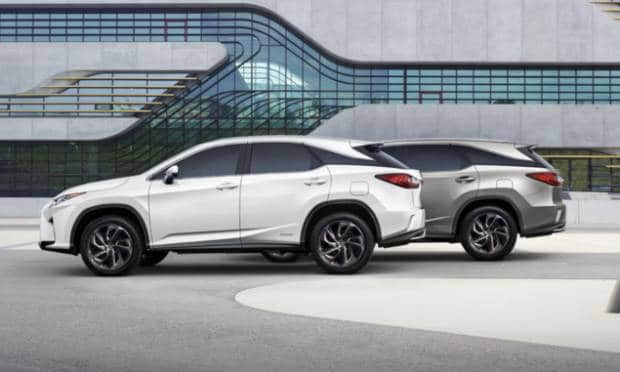 Lexus RX L (2017)