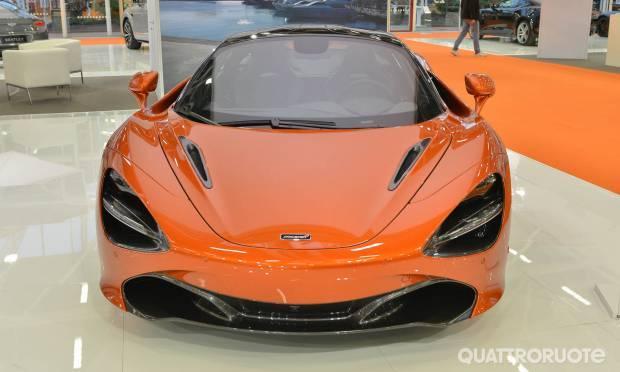 McLaren al Motor Show (2017)