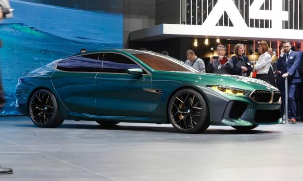 BMW Concept M8 Gran Coupé (2018) - FOTO LIVE