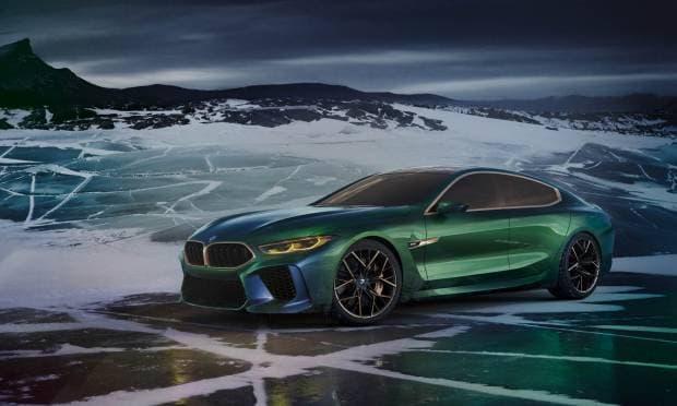 BMW Concept M8 Gran Coupé (2018)