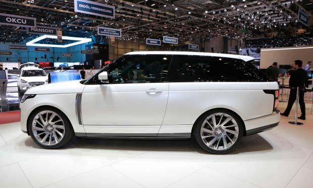 Range Rover SV Coupé (2018) - FOTO LIVE