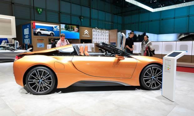 BMW i8 Roadster (2018) - FOTO LIVE