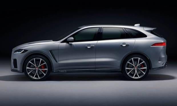 Jaguar F-Pace SVR (2018)