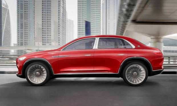Mercedes-Maybach Vision Ultimate Luxury (2018)