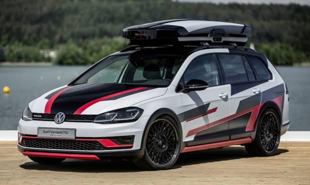 Volkswagen Golf Variant TGI GMotion (2018)