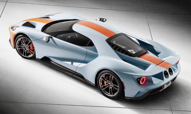 Ford GT Heritage Edition Gulf (2018)