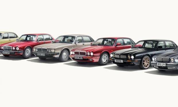 I poster storici della Jaguar XJ (2018)