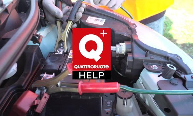 Come riavviare l'auto con i cavi se la batteria è scarica - Video Tutorial