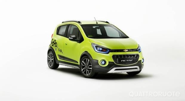 Chevrolet Beat Activ ed Essentia<br>  Due prototipi per il Salone di New Delhi