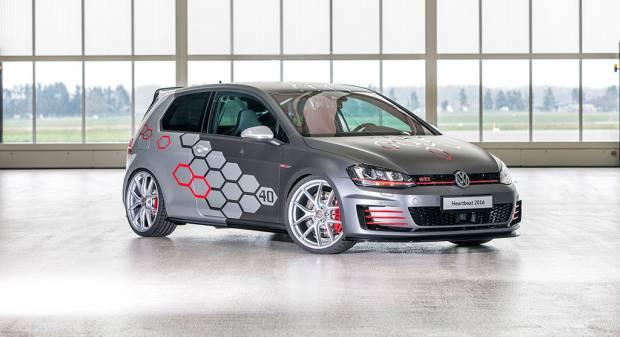 Volkswagen Golf GTI Heartbeat Wörthersee, un cuore pulsante da 400 CV