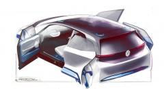 Volkswagen Porte posteriori scorrevoli per il prototipo elettrico