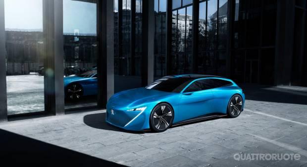 Peugeot Istinct Concept Una concept autonoma per il Salone di Ginevra