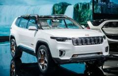 Jeep Yuntu Shanghai 2017, la prima ibrida plug-in del marchio - VIDEO