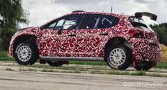 Citroën Primi test per la nuova C3 R5