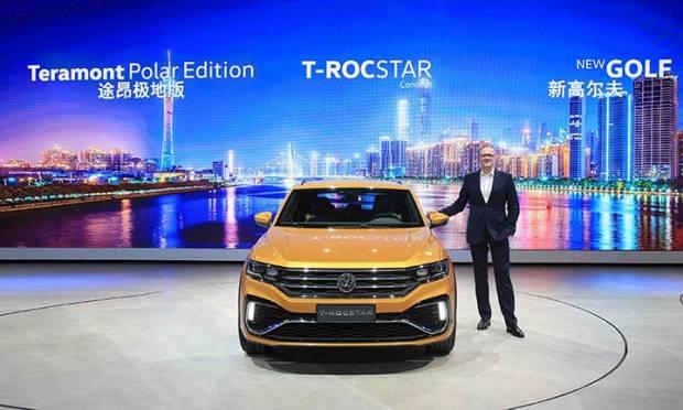 La T-RocStar e le altre novità per Guangzhou