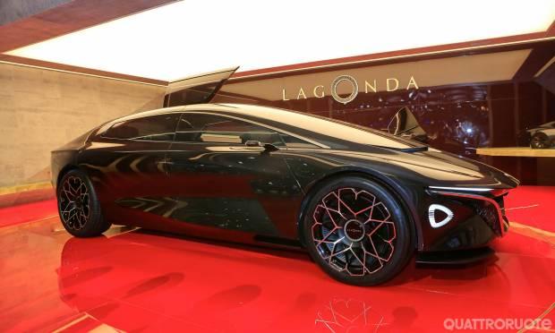 Rinasce la Lagonda con la Vision Concept - VIDEO