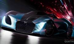 Con la X E-TENSE immagina l'auto del 2035