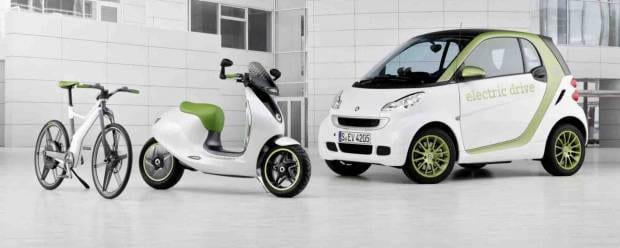 Mobilità sostenibile I mezzi alternativi secondo le Case - GALLERY