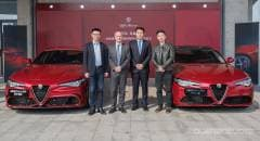 Cina Vendute online 350 Alfa Romeo Giulia in 33 secondi