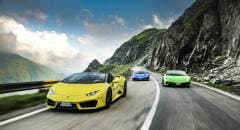 Lamborghini Sei Huracán sulle orme del Conte Dracula