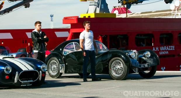 Cinema e motori Overdrive, il figlio di Eastwood fa il ladro di auto d'epoca