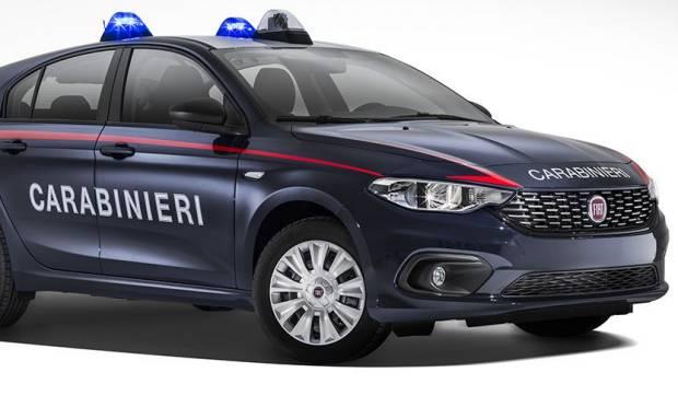 Anche la Fiat Tipo si arruola nell'Arma