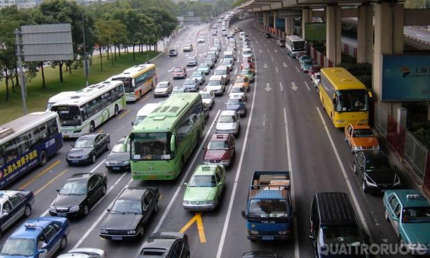 Quante tedesche in giro per Shangai