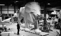 Un Leone mastodontico per il Salone di Ginevra
