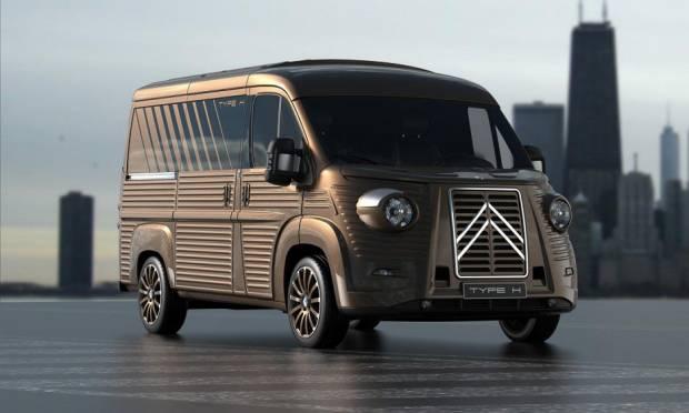 Il mitico furgone Citroën ritorna in kit