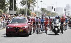 Stelvio e Giulia al Giro d'Italia