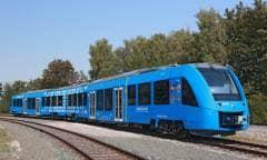 Sul primo treno a idrogeno del mondo - VIDEO