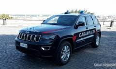 Anche la Grand Cherokee arruolata dai Carabinieri