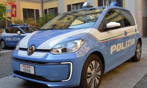 Consegnata una e-up! alla Polizia di Milano