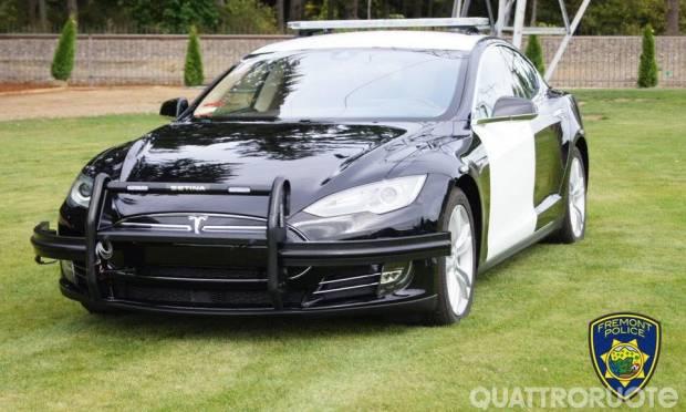 Una Model S per la polizia di Fremont