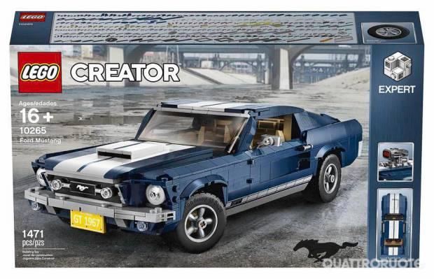 Lego Creator lancia la Mustang del 1967