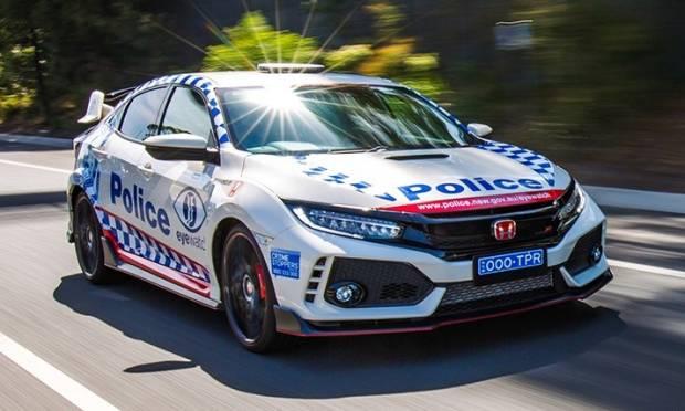 Honda Civic Una Type R per la polizia australiana