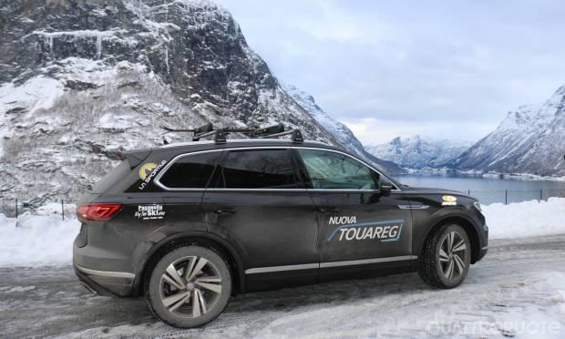 Alla scoperta della Norvegia con una Volkswagen Touareg
