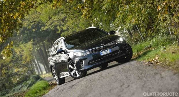 Kia Optima Una settimana con la Sportswagon GT Line - VIDEO