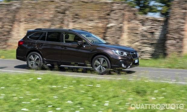 Subaru Outback Una settimana con la 2.5i Lineartronic Premium