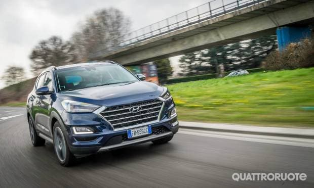 Hyundai Tucson Una settimana con il 2.0 CRDi 48V 4WD DCT Exellence - DAY 1