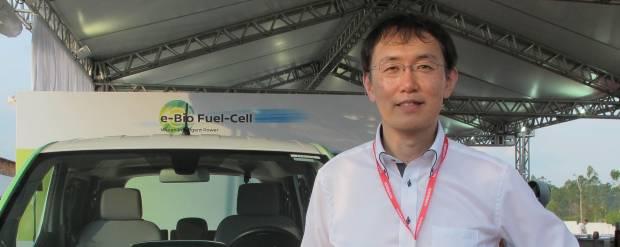 Yukimasa Ban Bioetanolo e fuel cell, la tecnologia Nissan andrà oltre il Brasile