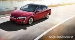Honda Clarity Negli Usa l'autonomia omologata è da record
