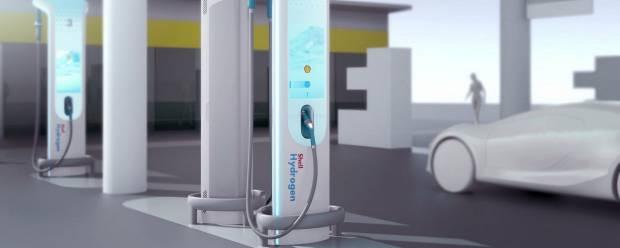 BMW Designworks e Shell Allo studio le nuove stazioni d'idrogeno