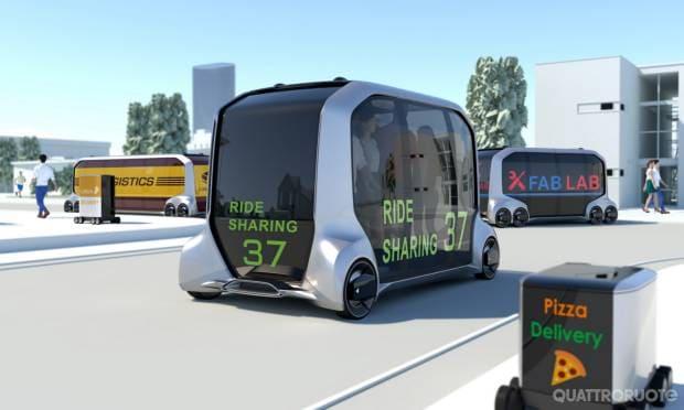 L'ecosistema di mobilità elettrica e autonoma