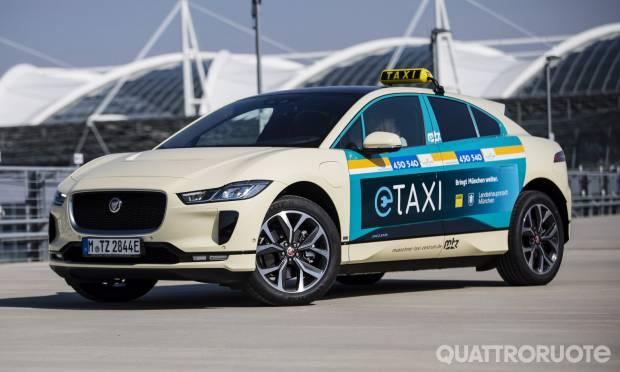 A Monaco l'elettrica diventa Taxi