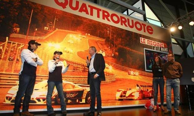 Motor Show 2010 I PILOTI SUL PALCO DI QUATTRORUOTE