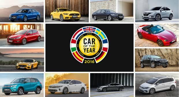 Car of the year 2016 Ecco la longlist delle trentaquattro candidate