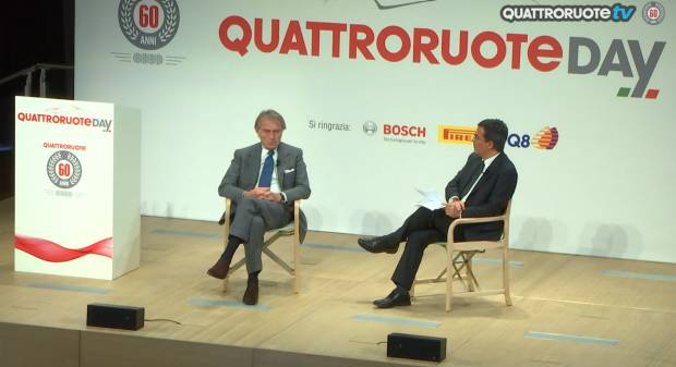 Quattroruote Day Montezemolo: Notizie su Schumi non buone come si sperava - VIDEO