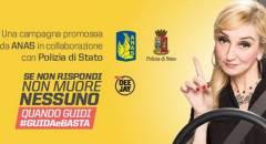 """Sicurezza Anas lancia la campagna """"Quando guidi #GUIDAeBASTA"""""""