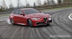 Alfa Romeo Nuovo record al Ring per la Giulia Quadrifoglio - VIDEO